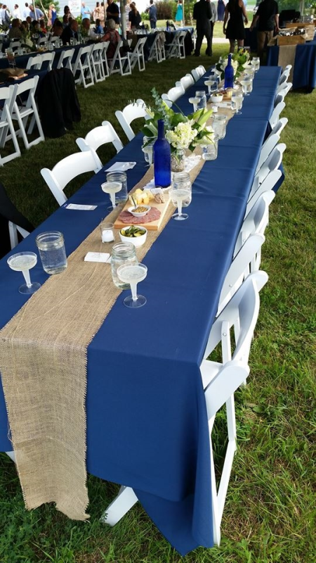 Banquet table and chair rental Whitefish Bay, Wisconsin