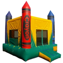 Bounce house rental for party or fair.