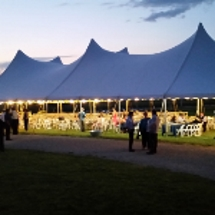 Wedding tent rental in Madison, WI.