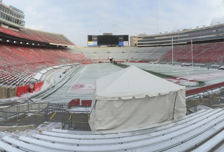 Winter Tent Rental At Camp Randall Stadium