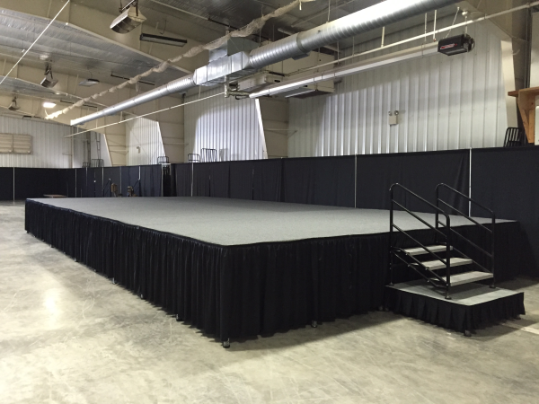 Mobile Tire Service >> Convention Stage Rental | Milwaukee Stage Rentals ...