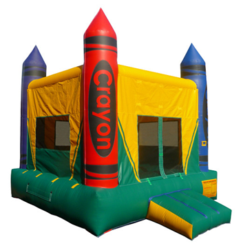 Crayon Bounce House Rental Wisconsin