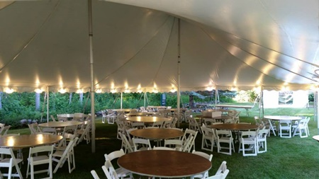 Event Tent Rental for Delafield Party