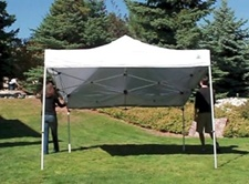 Po-up  canopy tents are the perfect choice for small tailgate parties.