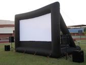 Inflatable movie screen rental Wisconsin