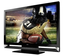 Rent LCD TV for football tailgate party