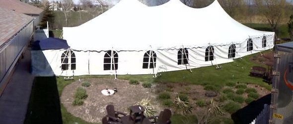 Large Pole Tent Rental Elm Grove
