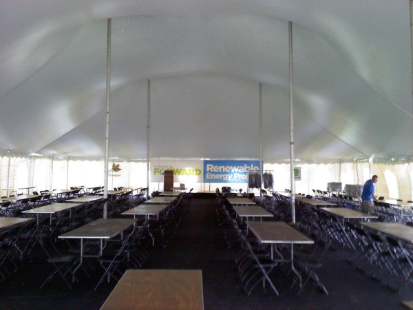 Tent Rental for Corporate Event Monona