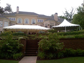 Mequon Party Tent Reception Area