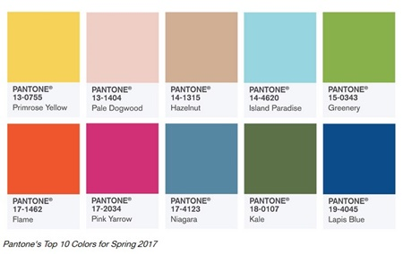 Wisconsin party rental store reveals 2017 colors