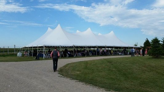 Pole tent rental & Pole Tent vs. Frame Tent | Madison u2013 Brookfield u2013 Wisconsin Party ...