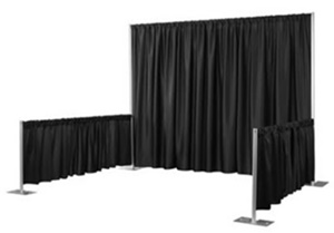 Pipe and Drape kit for rent in Wisconsin