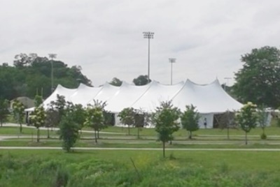 Pole tent rentals throughout Wisconsin.
