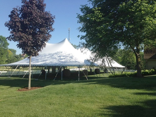Pole Tent Rental New Berlin