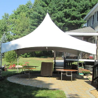 Patio and deck tent rentals Milwaukee