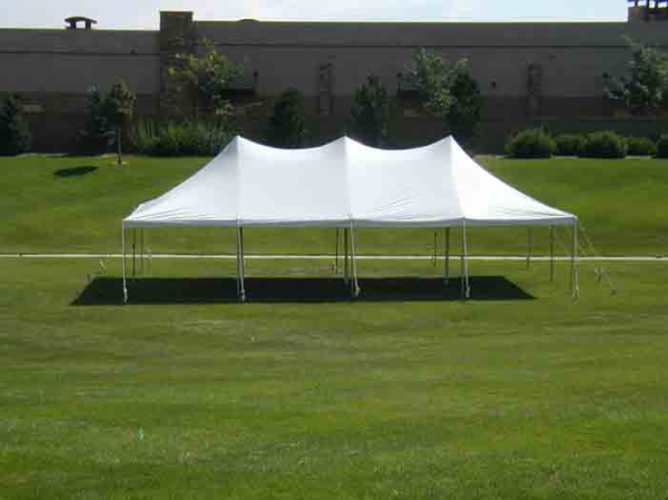 20x40 White Tent & Century Tension Style Party Tents Madison | White Event Tents For ...