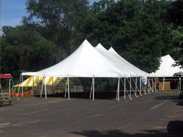 30 by 60 foot White Wedding Tent
