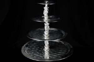 4-Tier Tray, Stainless