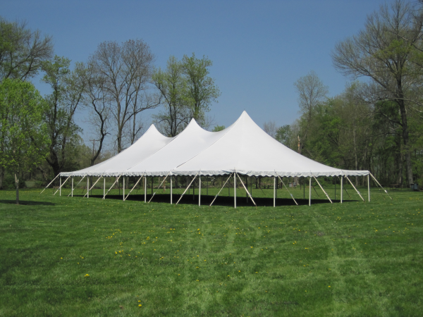 40x80 All White Wedding Tent
