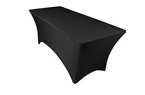 6ft table with spandex cover