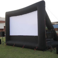 Movie night rental equipment in Waukesha