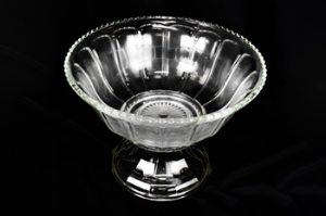Punch Bowl, Clear Glass