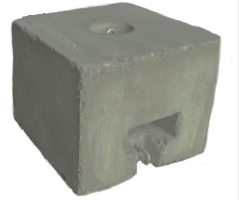 500 Lb. Concrete Block