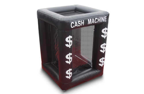 Inflatable Cash Cube Rental Corporate Amp Promotional