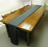 Harvest Table-8 Feet x 40 Inches Walnut