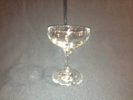 Champagne, saucer, 4-1/2 oz.