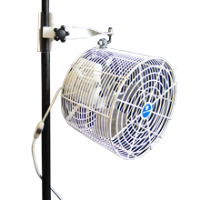 Fan, Pole Mount 12""