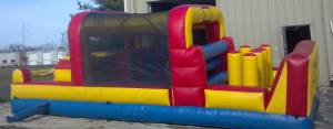 Obstacle Course, 13 ft. x 32 ft.