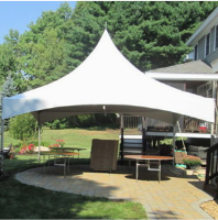 20x20 Free standing frame tent for rent in Madison & Milwaukee Wisconsin