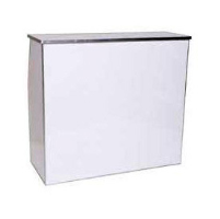 Bar, 4ft Portable White