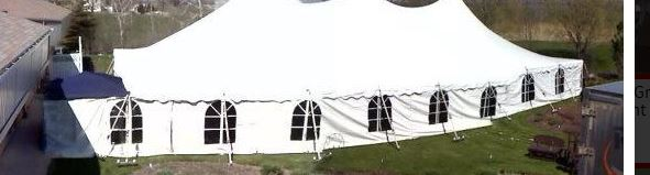 Tent Sides, per 20ft section (Windows)