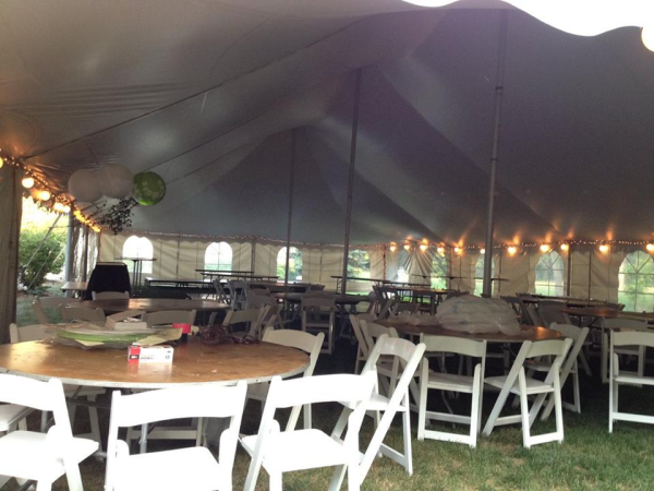 Hartland Wi Wedding Tent Rental Pole Tent Rentals Near