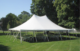Wisconsin party tent rental shop with locations in Milwaukee, Madison and Appleton.