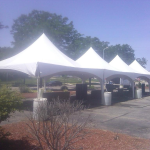 High peak frame tent rental in Madison