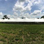 60x220 White Wedding Tent