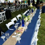 Banquet table and chair rental Whitefish Bay