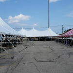 Brookfield church festival event tent rental