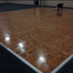 Dance floor rental in Milwaukee