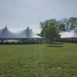 Verona Pole Tent Rental for Wedding Reception