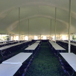 Madison Pole Tent Interior