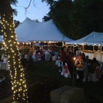 Madison Wedding Tent Party