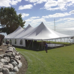 Pole Tent Rental For Wedding