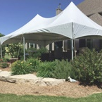 Tent Rental for Patio Party Appleton