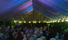 Wedding tent rental from Brookfield Party Rental