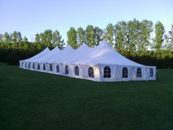Green Bay Wisconsin Large Party Tent Rental Wedding Reception