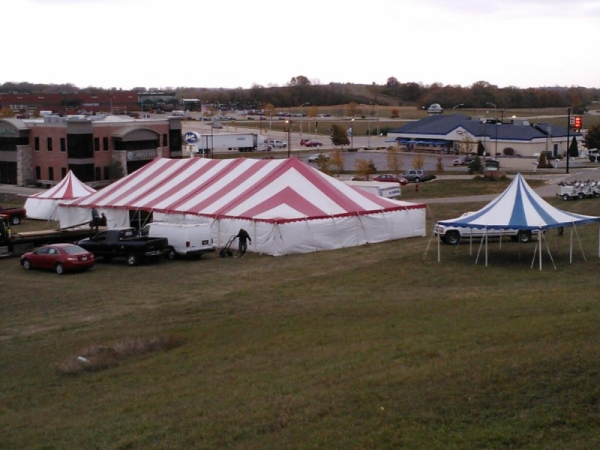 Striped Party Tent Rentals Madison